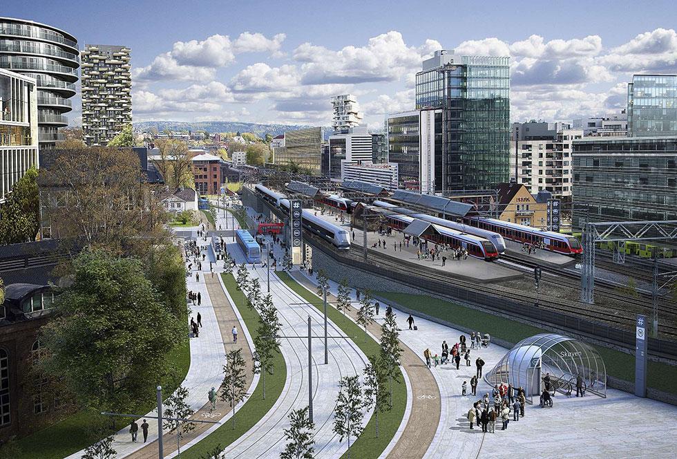 Новую линию метро в Норвегии спроектирует датская компания