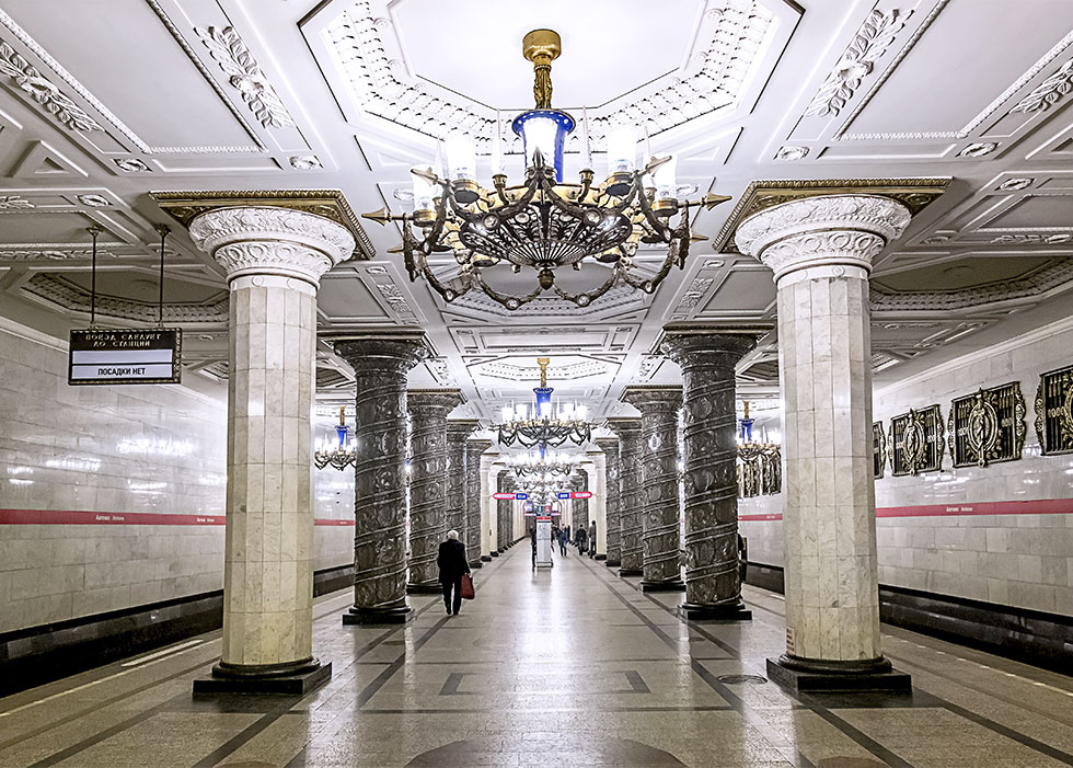 Одно из приоритетных направлений развития Петербурга – строительство метро!