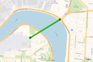 карта расположения тоннеля