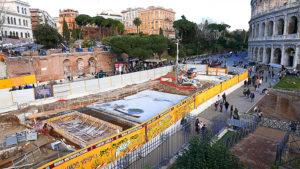 строительство метро рима