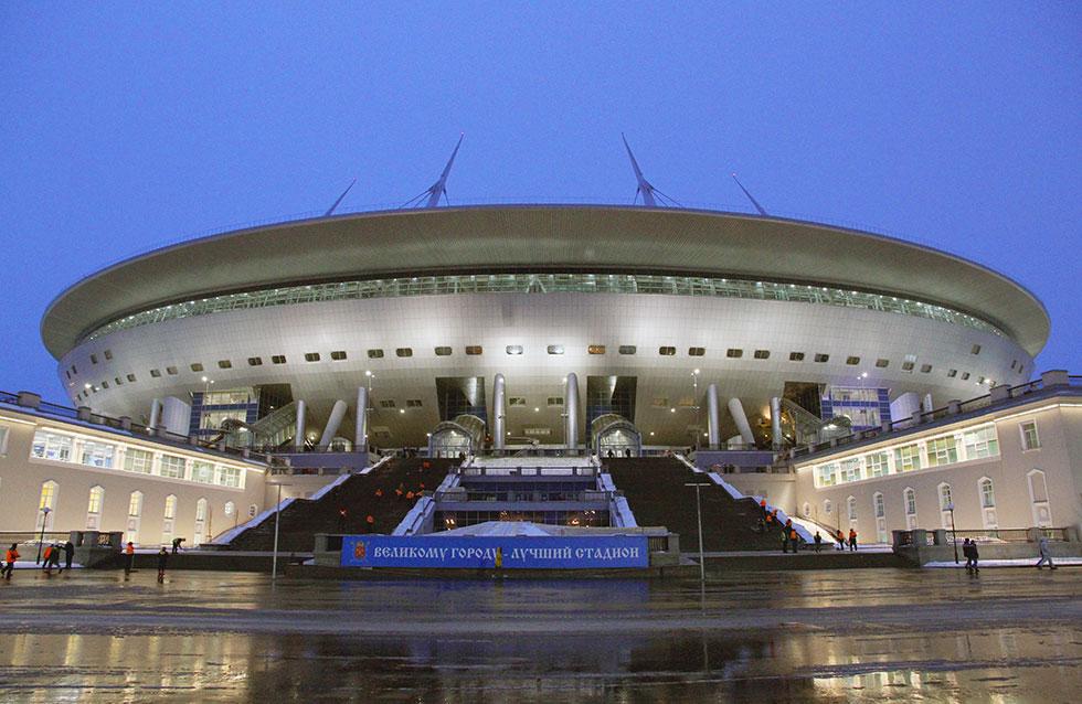 Стадион Зенит Арена фото