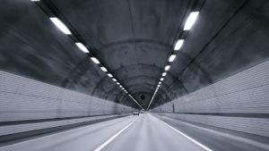 фото тоннель