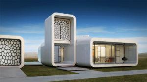 Здание на 3D-принтре
