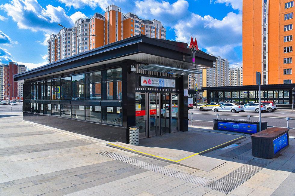 Некрасовская линия метро