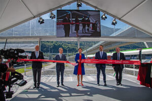Открытие ценерийского базисного тоннеля