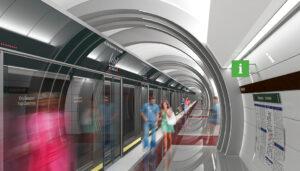 Юго-Западная станция метро в Санкт-Петербурге