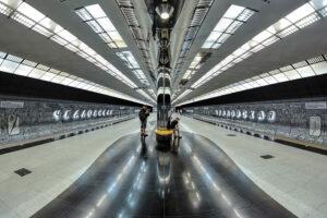 Станция метро Чкаловская в Екатеринбурге